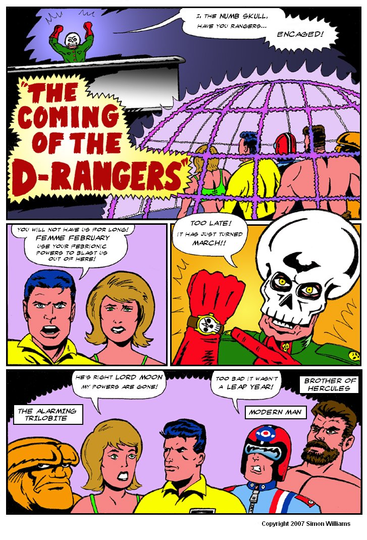 The Coming Of The D-Rangers - Part 1